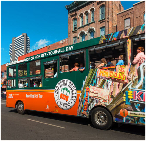 Nashville-hop-on-hop-off-tours Old Town Trolley Tours