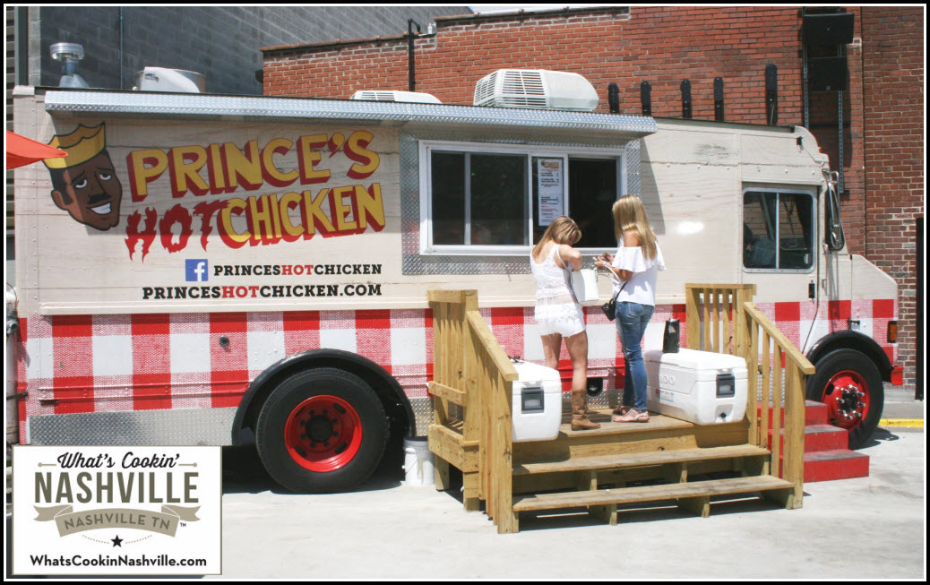 Prince's Hot Chicken Downtown Nashville