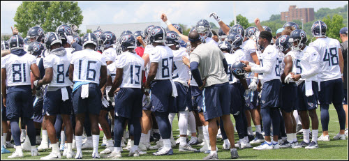 Tennessee Titans Open Practice 2019 What's Cookin' Nashville